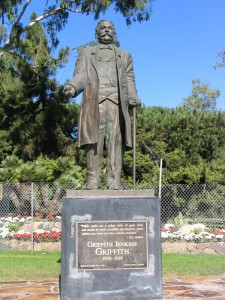 Griffith J Griffith Statue Los Feliz CA | Los Feliz Real Estate | Los Feliz Realtor | Los Feliz Homes For Sale