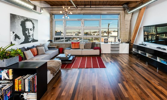 Dtla loft for sale expansive home at the barker block for La downtown condo for sale