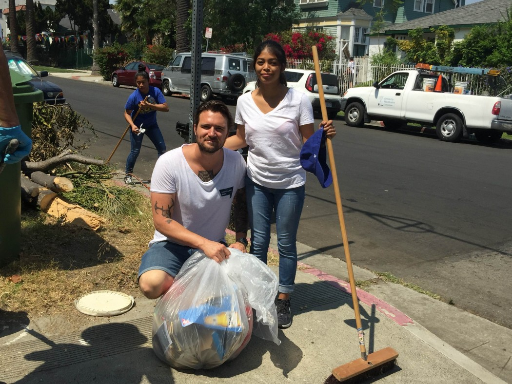 Historic Filipinotown: Community Walk and Clean Up | Council Member Mitch O'Farrell | Fillipnotown Real Estate For Sale