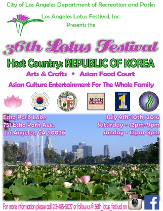 Echo Park Lotus Festival I Echo Park Events I Echo Park Community
