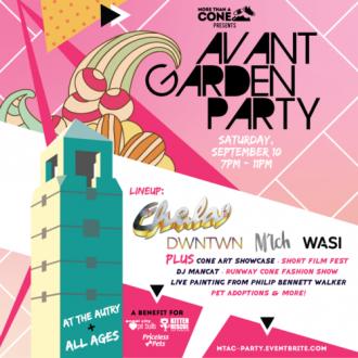 More Than A Cone's Avant Garden Party | Highland Park Real Estate | Highland Park Events