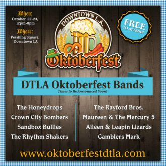 Celebrate LA Beers + Breweries: OCTOBERFEST | Top DTLA Realtor | Best Realtor Downtown LA