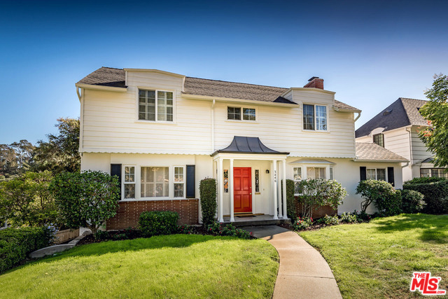 Colonial revival home for sale in los feliz silver lake blog for Colonial style houses for sale