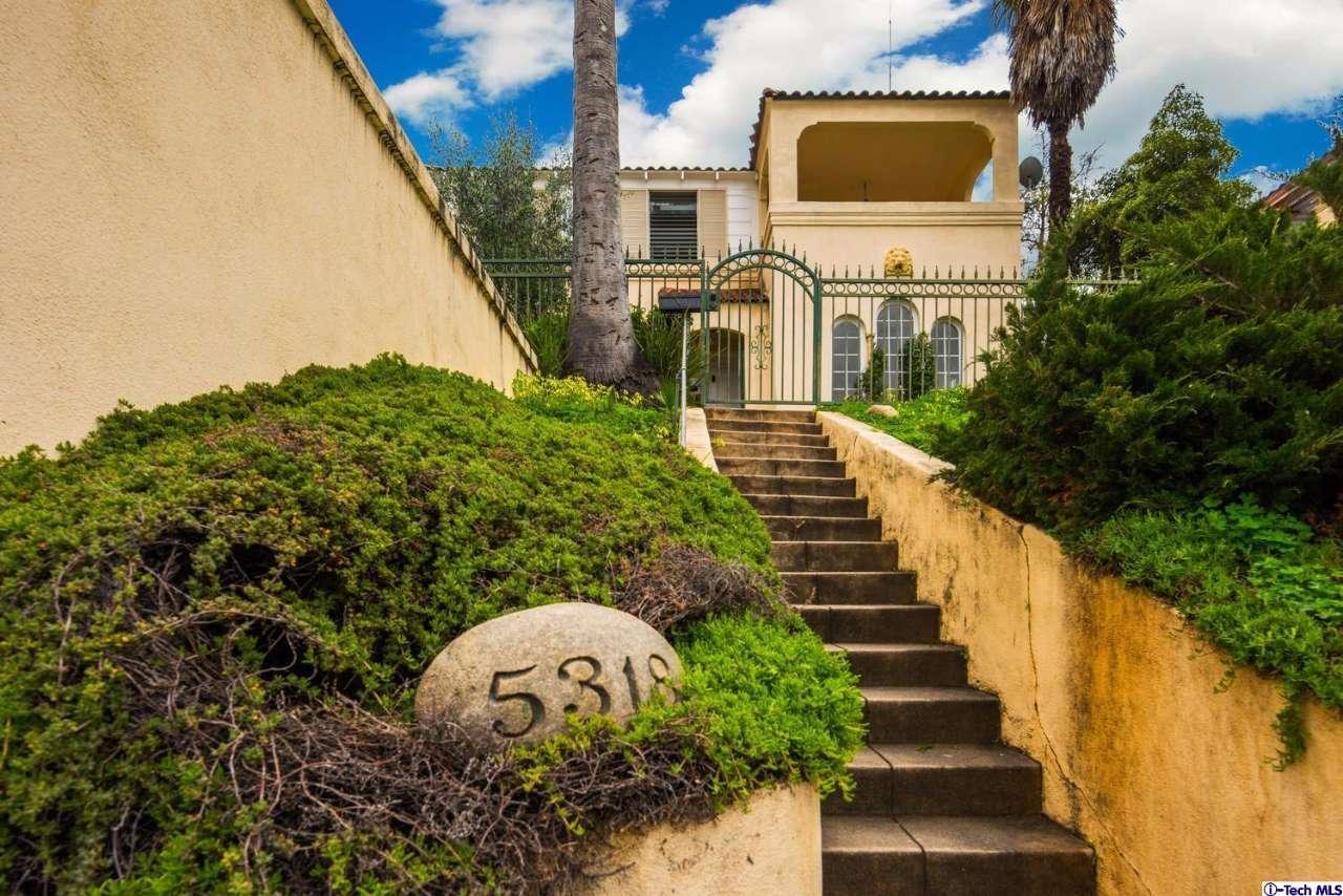 Huge hilltop eagle rock home for sale for Massive homes for sale