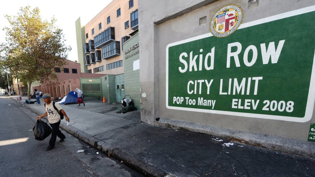 Skid Row In DTLA Has Its Own Set Of Rules | Skid Row Downtown Los Angeles | Skid Row Homeless DTLA