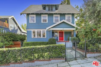 Gorgeous Angelina Heights Craftsman Above Sunset Blvd | Echo Park Real Estate For Sale | Echo Park Real Estate Agent