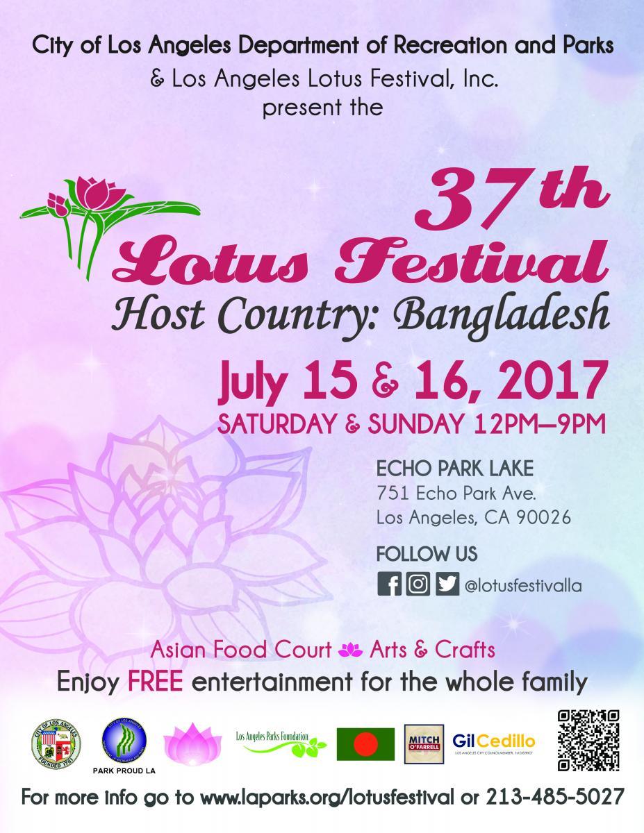 37th Annual Echo Park Lotus Festival | Echo Park Real Estate Agent | Echo Park Realtor