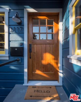 Cute and Blue Silver Lake Bungalow with Vintage Charm | Silver Lake Homes For Sale | Silver Lake Real Estate Agent