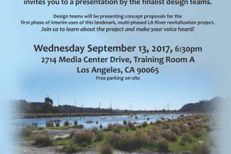 LA River Revitalization Taylor Yard G2 River Park Finalists Event | Atwater Real Estate Agent Glenn Shelhamer | Glassell Park Real Estate Agent