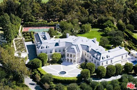 Celebrity Home Sales Prices in Los Angeles Soared in 2017, Homes of the rich and famous, movie star homes in Los Angeles, Celebrity houses for sale
